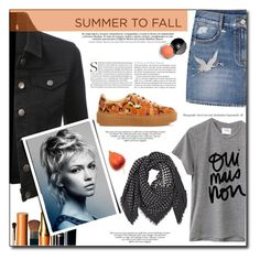 """""""Summer To Fall"""" by tina-miholic ❤ liked on Polyvore featuring MANGO, Alexander McQueen, Puma, Sincerely, Jules, LE3NO and Chanel"""