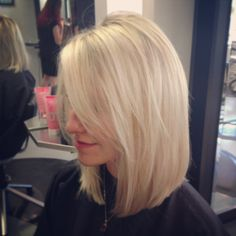 Kind of a perfect long bob...if I were to ever go this short.