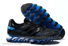 http://www.womenpumashoes.com/adidas-men-springblade-black-blue-running-shoes-online.html ADIDAS MEN SPRINGBLADE BLACK BLUE RUNNING SHOES ONLINE Only $72.00 , Free Shipping!