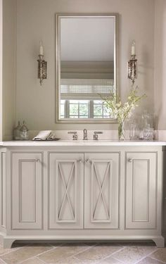 gray cabinet/like this design