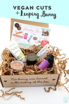'Leaping for Beauty' Vegan Cuts + Leaping Bunny Beauty Box Review