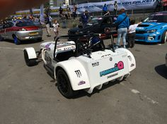Coventry festival obp Motorsport products and brand ambassadors.