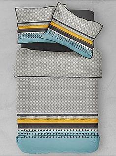 Nordic spirit Alika Bedclothes 220 x 240 cm Bedclothes, Duvet Cover Sets, Spirit, Stuff To Buy, Fashion, Double Beds, Duvet Covers, Linens, Comforters