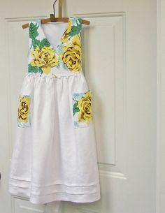 yellow dress 4t 0341