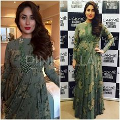 Celebrity Style,kareena kapoor,Sabyasachi,lakme fashion week,kareena kapoor khan,Lakme Fashion Week Winter Festive 2016,LFW 2016