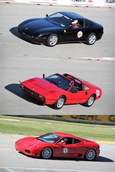 Ferrari Club of America at Road America 2013