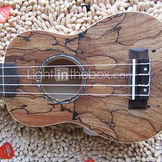 Hanknn - Maple Soprano Ukulele with Gig Bag/String/Picks/Strap I must have this..