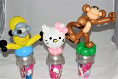 Balloon Candy Cup Party Favors by Las Vegas Balloon Twister, Jeremy Johnston Balloon Company, Balloon Delivery, Balloon Decorations, Party Favors, Las Vegas, Balloons, Cups, Candy, Diy