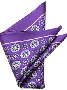 Pocket square for men (but purple is too light)