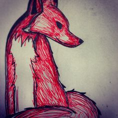 Foxy drawing :)