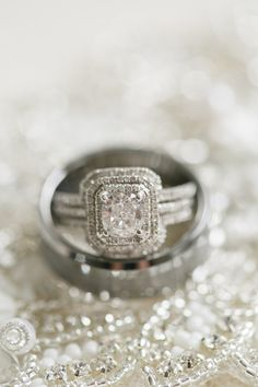 View entire slideshow: 100 Dazzling Engagement Rings Worth Flashing on http://www.stylemepretty.com/collection/2466/