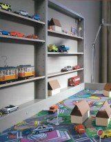 Kliknutím zobrazíte plnou velikost obrázku Wooden Train, Bookcase, Shelves, Home Decor, Shelving, Decoration Home, Room Decor, Shelf, Interior Design