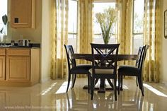 Dining Room Curtains Ideas Chairs