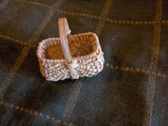 Minuscule White Oak Basket by Betty Tanner, 5th generation basketmaker #shoplocal #accc #oneofakind