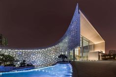 Perkins+Will's Shanghai Natural History Museum Is a Time Warp in Building Form - Architizer