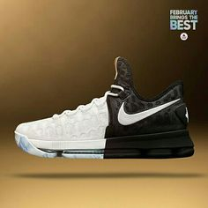 The BHM #Nike KD 9 arrives in stores and online tomorrow. #FebBringsTheBest Stores: footlocker.com/launch Available now at our Canal Street store in New Orleans.