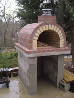 The Tildsley Family Wood Fired DIY Brick Pizza Oven in Massachusetts - BrickWood Ovens