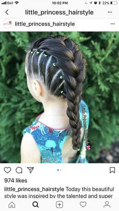 67 Ideas Hairstyles For Girls Easy Hairdos Little Girls Hairstyles easy Girls hairdos Hairstyles Ideas Baby Girl Hairstyles, Pretty Hairstyles, Braided Hairstyles, Short Hairstyles, Toddler Hairstyles, Easy Little Girl Hairstyles, Hairstyles Pictures, Hairstyles 2016, Hairdos For Little Girls