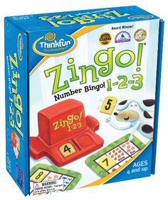 The Playful Otter: ZINGO! Number BINGO 1-2-3