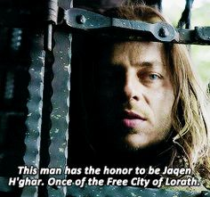 This man has the honor to be awesome and effen sexy! A Dream Of Spring, Jaqen H Ghar, Game Of Thrones, A Storm Of Swords, The Winds Of Winter, Tom Wlaschiha, A Clash Of Kings, A Dance With Dragons, I Love Games