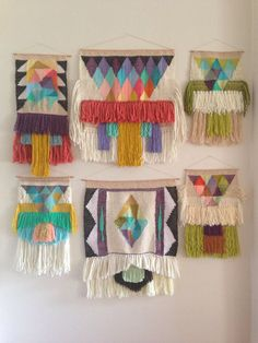 maryanne moodie tapestries | Woven wall hangings by Maryanne Moodie