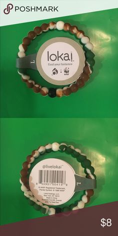 Camo lokai WWF Lokai camo, size large. Lokai Jewelry Bracelets