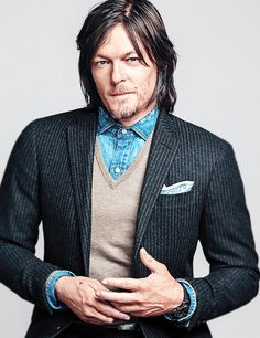 Norman Reedus 003 Aka Daryl From The Walking Dead Fridge Magnet Great Gift The Boondock Saints, Norman Reedus, Daryl Dixon, Hot Actors, Actors & Actresses, The Walking Dead, Hollywood, Gq Magazine, Rick Grimes