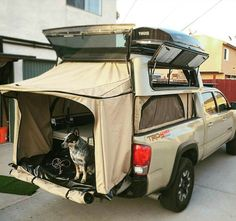 Camping essentials kitchens camping hacks packing clothes,modern camping gear awesome camper camping ideas wheels,camping ideas lights glow sticks rei camping tips. Truck Bed Camping, Truck Tent, Truck Camping, Camping Gear, Truck Topper Camping, Camping Hacks, Pickup Camper, Camper Trailers, Motorhome