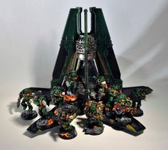Warhammer 40k Salamanders, Warhammer 30k, Tau Empire, Warhammer 40k Miniatures, Space Marine, Gw, Marines, Squad, Nerd