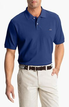 Vineyard Vines 'Classic' Piqué Knit Polo available at #Nordstrom