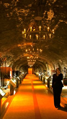 Experiencing the making of champagne and having dinner in the caves is an amazing experience. Put it on your bucket list! Bon Champagne, Mumm Champagne, Vintage Champagne, Paris Travel, France Travel, Champagne Region France, France Winter, Veuve Cliquot, European Road Trip