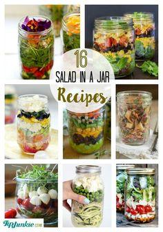 16 Salad in a Jar Recipes