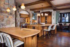 Rustic Lodge Interior Decorating Ideas