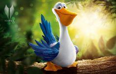 Pelican Character Design