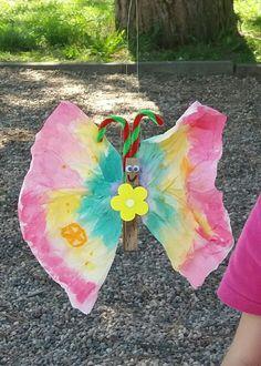 motýlci z papírových kapesníků