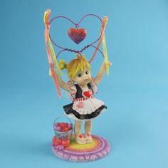 My Little Kitchen Fairies from Enesco I Love U Heart Fairie Figurine 4.75 IN