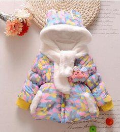 Baby Girl Hooded Camouflage Jacket – CHILDREN TERRITORY Kids Winter Jackets, Winter Kids, Snow Wear, Toddler Girl, Baby Girls, Camouflage Jacket, Baby Girl Winter, Rabbit Baby, Baby Coat
