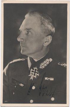 Generalfeldmarschall Moritz Albrecht Franz Friedrich Fedor von Bock (3 December 1880 – 4 May 1945) Knight's Cross of the Iron Cross on 30 September 1939 as Generaloberst and Commander-in-Chief of Heeresgruppe Nord