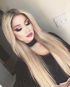 """Toronto  makeup makeupbyalinna@outlook.com (Business inquiries only)  FB:Makeup by Alinna Snapchat: makeupbyalinnaa  Bellami hair↓: """"Alina"""""""