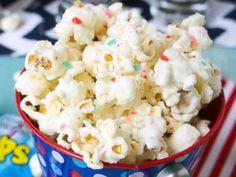 PHOTO: I Wash... You Drys White Chocolate and Fireworks Popcorn