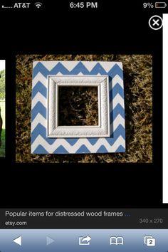 Cute wood frame idea