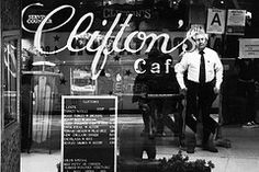Remembering Clifton's Cafeteria (1935-2011-?) http://www.esotouric.com/clifton  Photo by Derek Hutchison