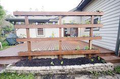 Vertical Herb Garden DIY Project - Thehomesteadsurvival