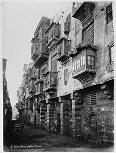 Unknown Artist, Unknown School, Rue du Caire quartier Toulon [Street in Cairo, Toulon quarter], 1870s