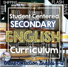 Do you want great interactive, differentiated, and practical materials for your secondary English Language Arts classroom? Entire Student Centered Secondary English Curriculum - American Lit, Brit Lit, Short Stories, and Young Adult Lit, Also get Writing, Vocabulary, Organizers, Poetry, Many bonus activities. FREE SHIPPING! ($)