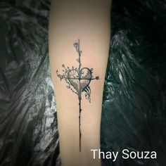 Tattoo Heart tiny tattoo There's a lot of symbolism here