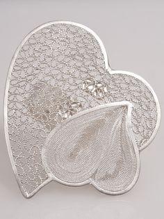 Handmade silver hearts ring #rings