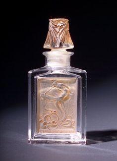 R. LALIQUE Perfume bottle, LEffleurt, for Coty,