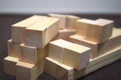 オープンシェルフで使用した角材 #DIY