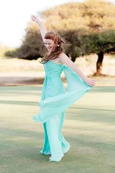 Aqua Matric dance dress by Amanda Ferri #formaldresses #specialoccasiondresses #TheAmandaFerriShowroom